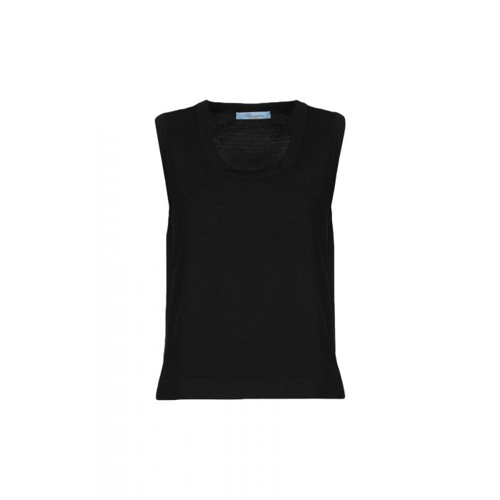 Image for Blumarine Black Wool Pullover