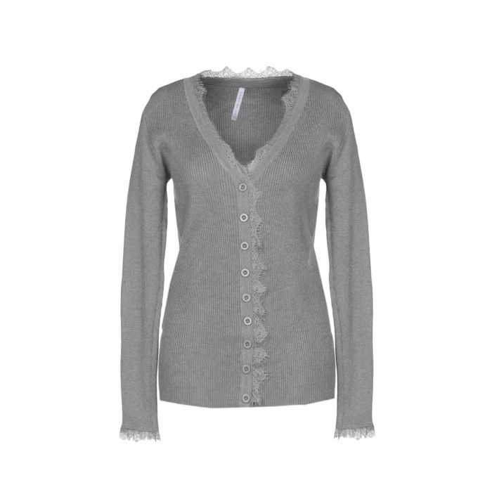 Image for Care Of You Grey Viscose Cardigan
