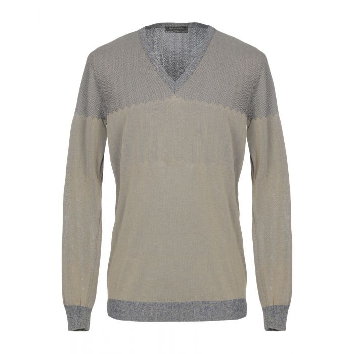 Image for Gabriele Pasini Khaki Cotton Pullover