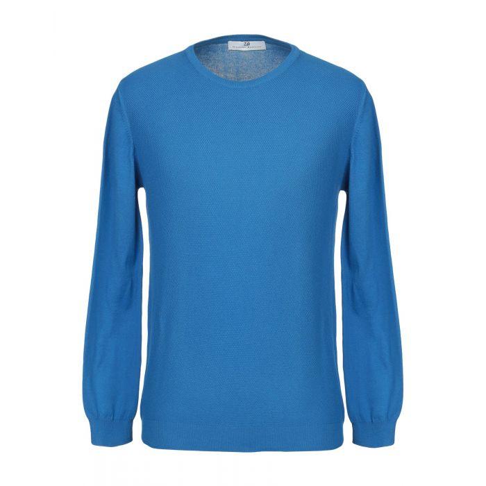 Image for Massimo Rebecchi Azure Cotton Pullover