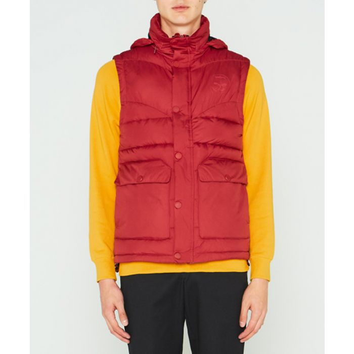 Image for Men's Original red puffer gilet