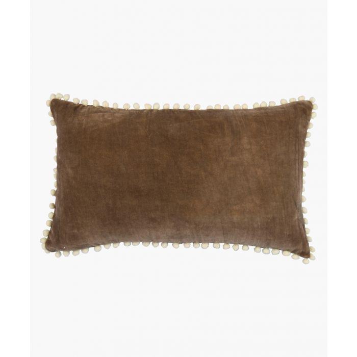 Image for Bark pom-pom cushion cover