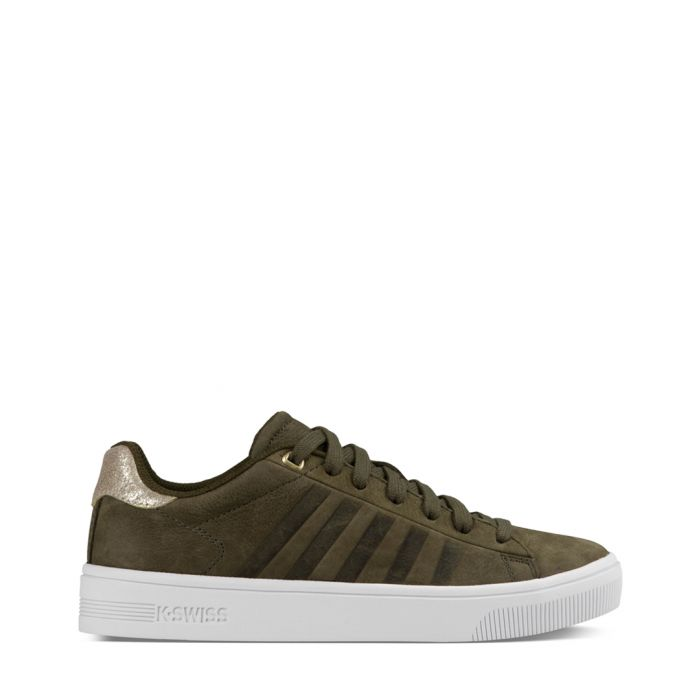 Image for Court Frasco olive trainers