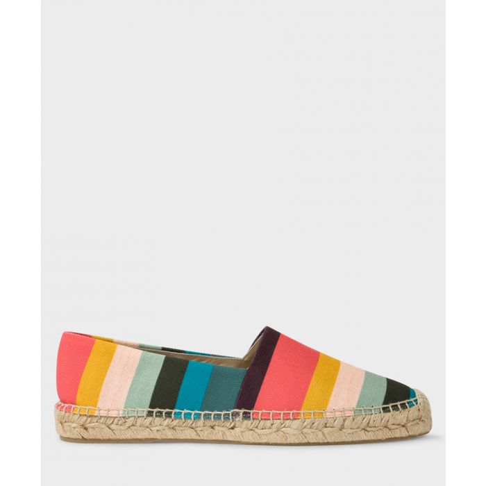 Image for Multi-coloured striped espadrilles