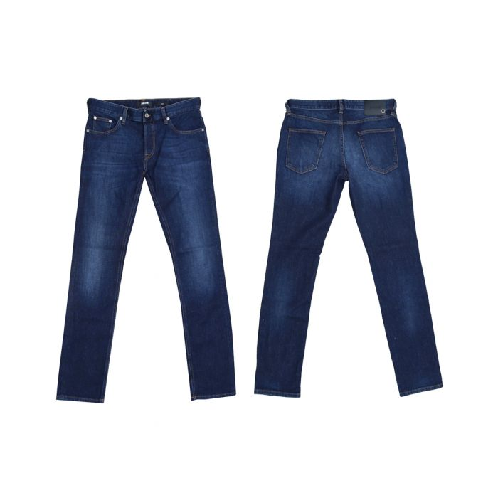 Image for Indigo blue slim fit jeans