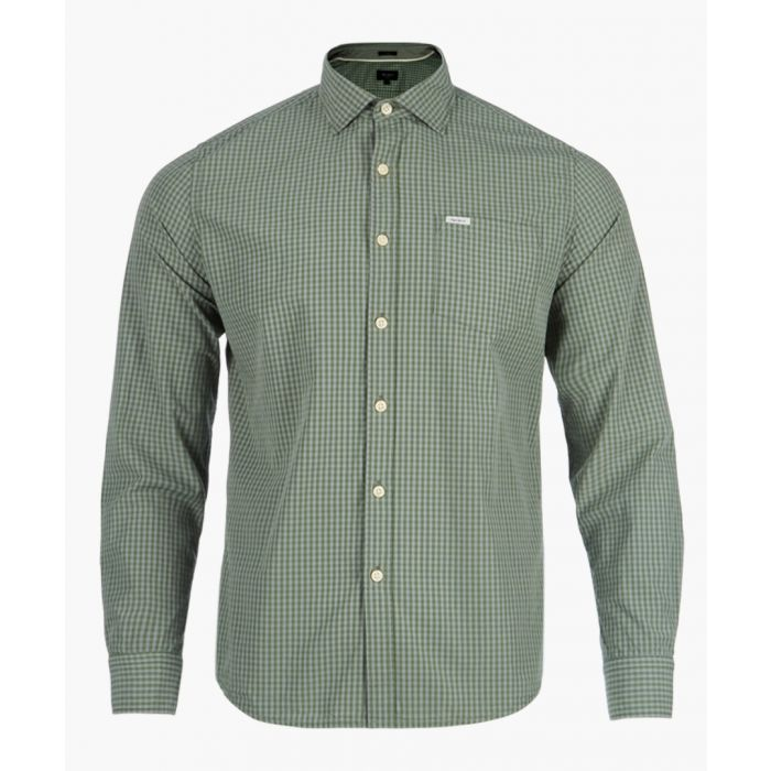 Image for Forest khaki button-up shirt