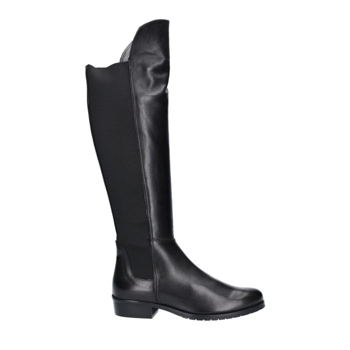 Image for Black leather riding boots