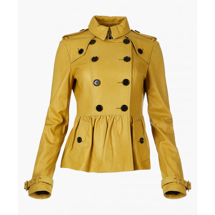 Image for Lemon quartz lambskin jacket