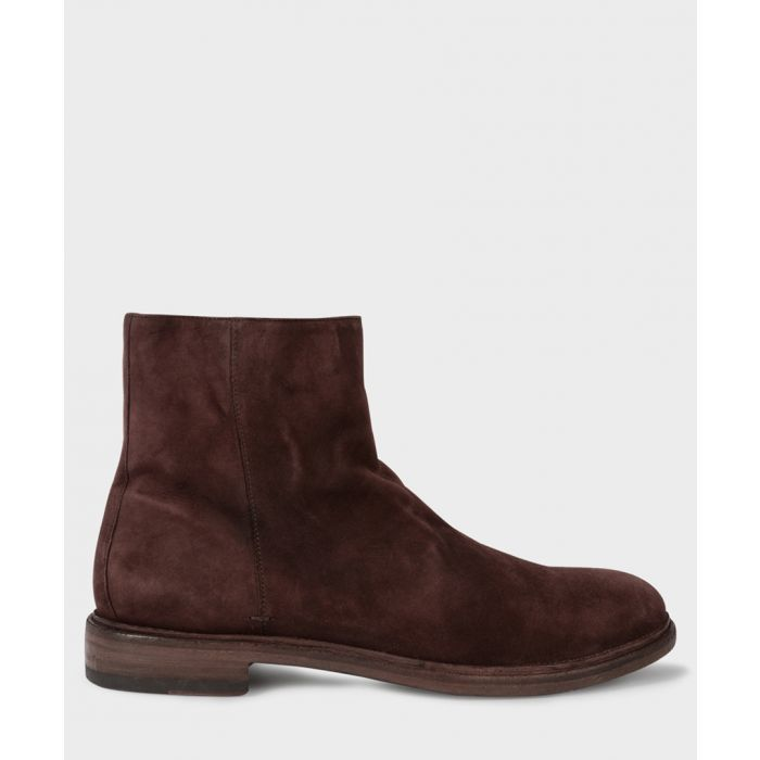 Image for Aubergine suede boots