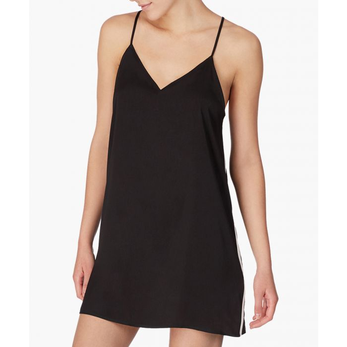 Image for Black short chemise