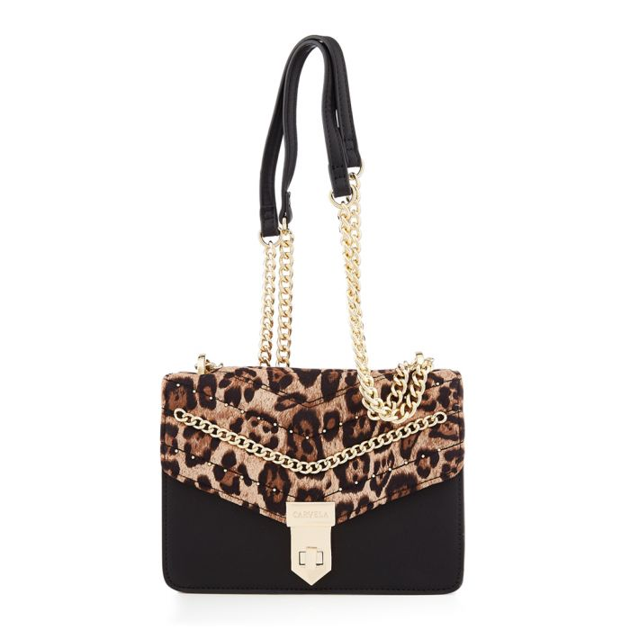 Image for Establish leopard print bag