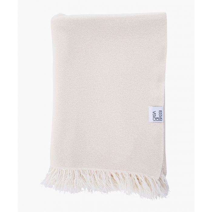 Image for Soft and cosy natural cashmere scarf