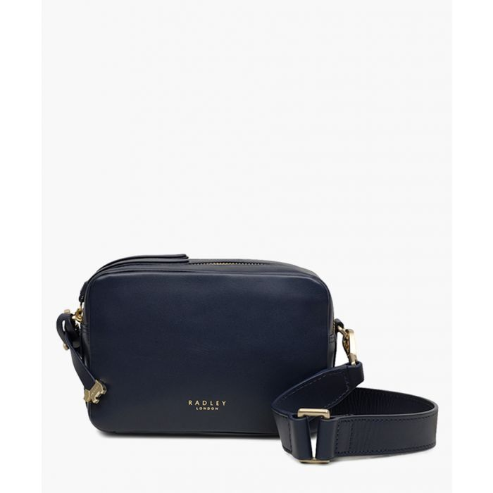 Image for Ink blue zip-around crossbody