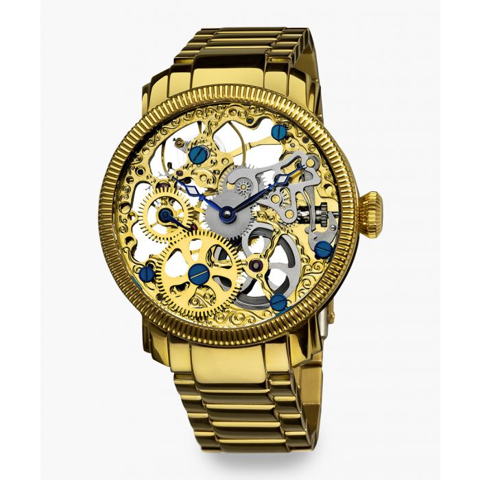 Image for Gold-tone stainless steel watch