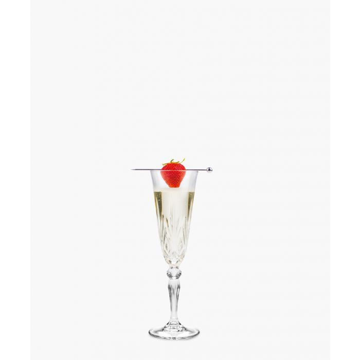 Image for 6pc Melodia Crystal champagne flutes glasses 160ml