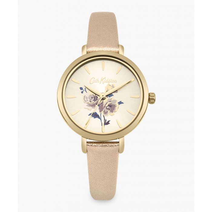 Image for Blush floral patterned watch