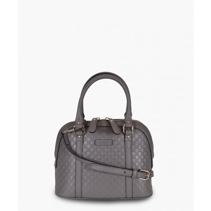Image for Nice grey Microguccissima leather dome tote