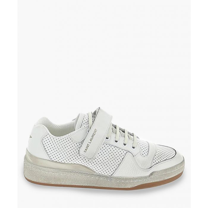 Image for SL24 white leather trainers