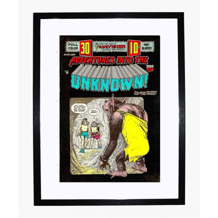 Image for Adventures into the Unknown 57 framed print