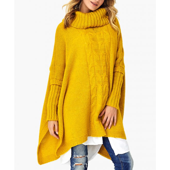 Image for Mustard wool blend knitted sweater