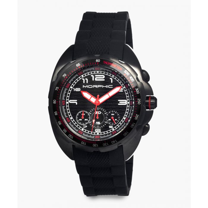 Image for M25 Series silicone and stainless steel chronograph watch