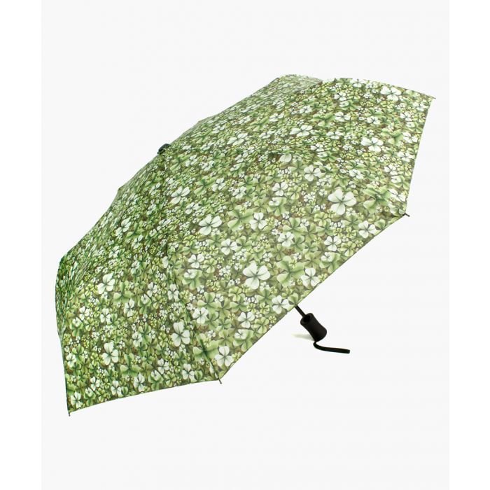 Image for Shamrock green foldable umbrella