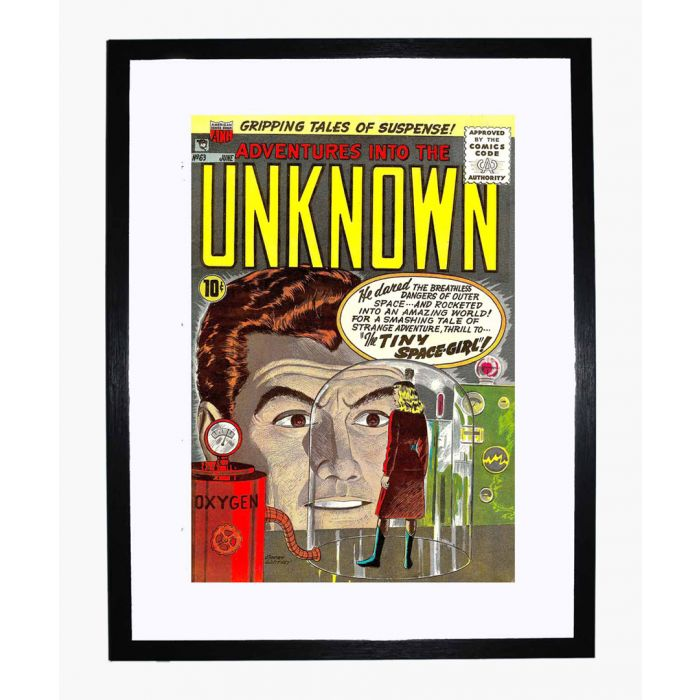 Image for Adventures into the Unknown 63 framed print