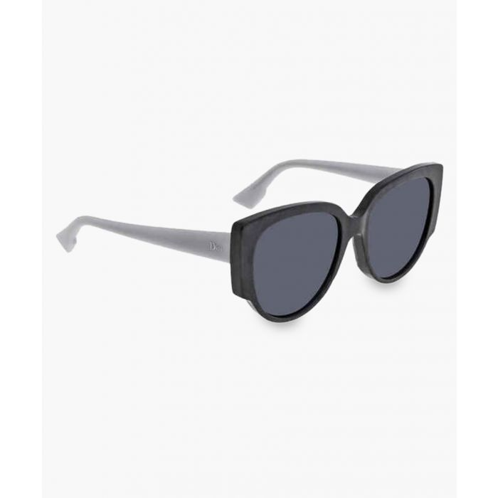Image for Night pearl and blue cateye sunglasses