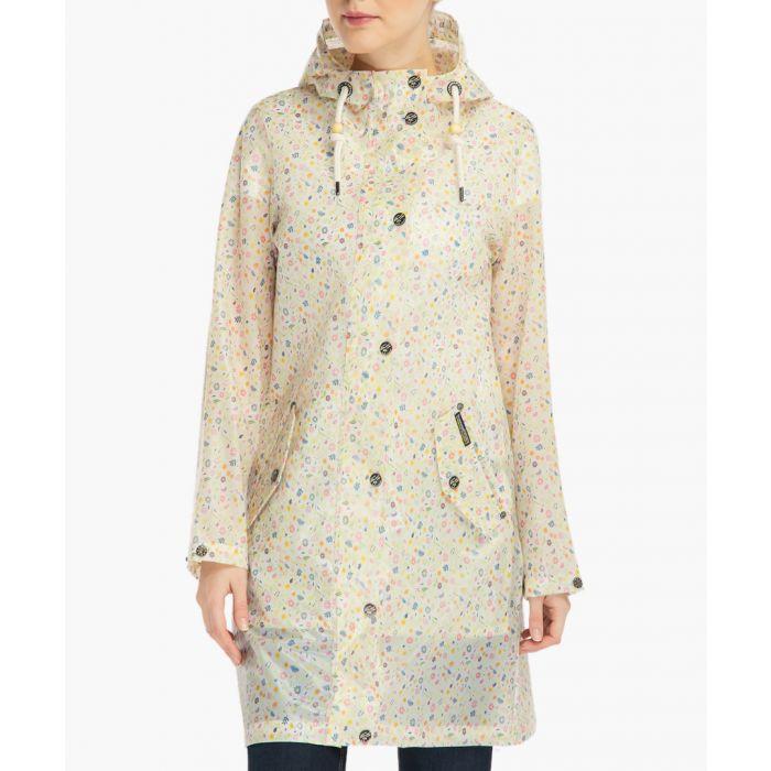 Image for Multicolour floral print raincoat