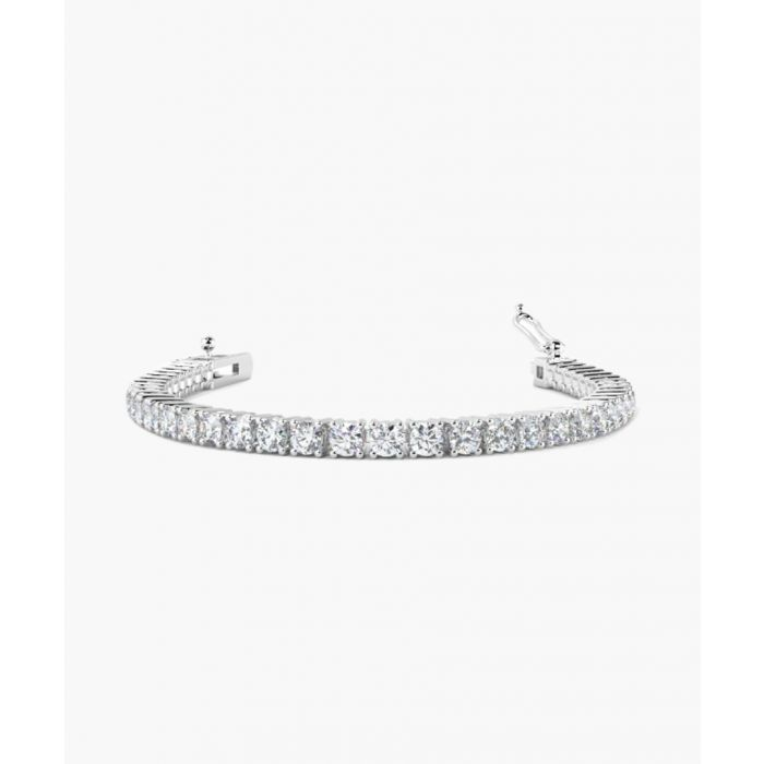 Image for 18k white gold and 5.00ct diamond bracelet