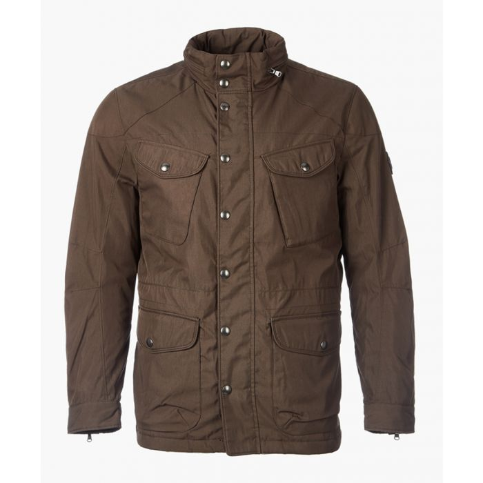 Image for Velospeed brown button-up coat