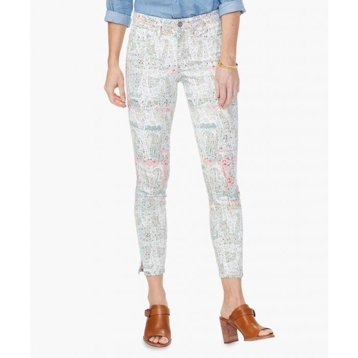 Image for Ami paisley impression skinny jeans