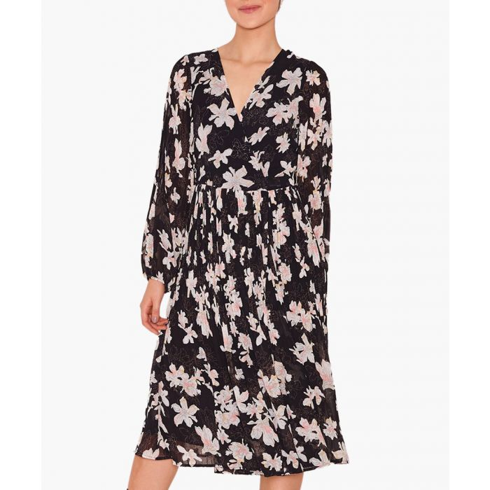 Image for Marni floral pleated dress