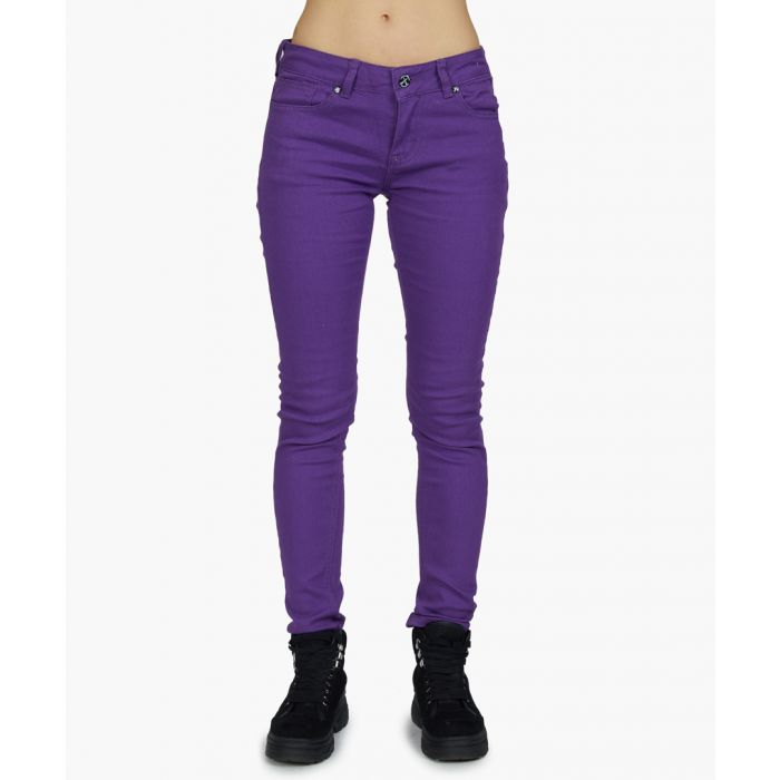 Image for Purple hand stretch jeans
