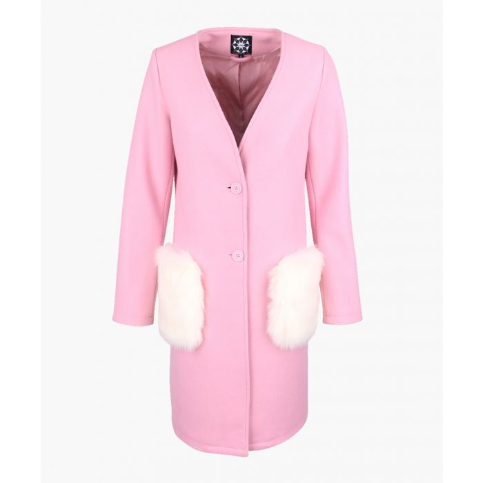 Image for Rose wool blend coat