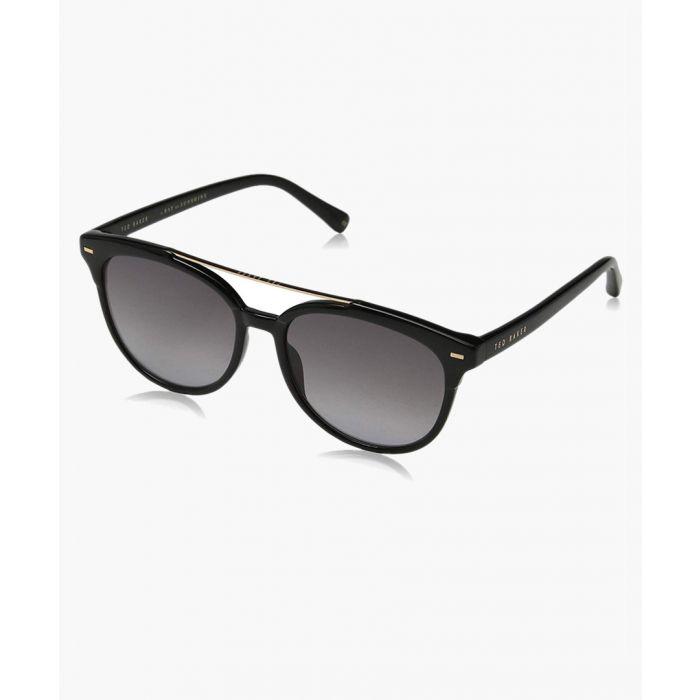 Image for Solene black sunglasses