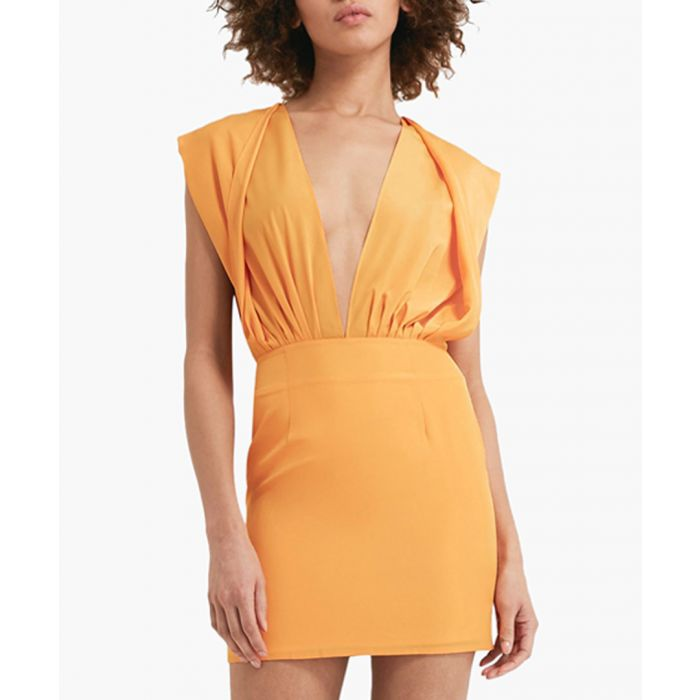 Image for Reese saffron mini dress