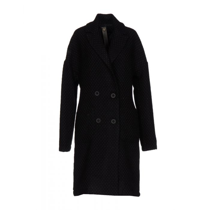 Image for Black double-breasted coat