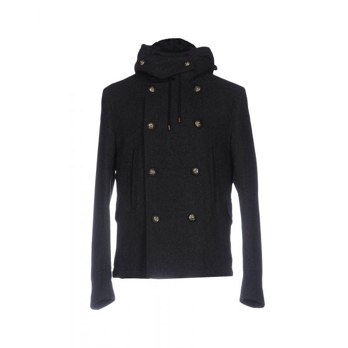 Image for Steel grey wool jacket