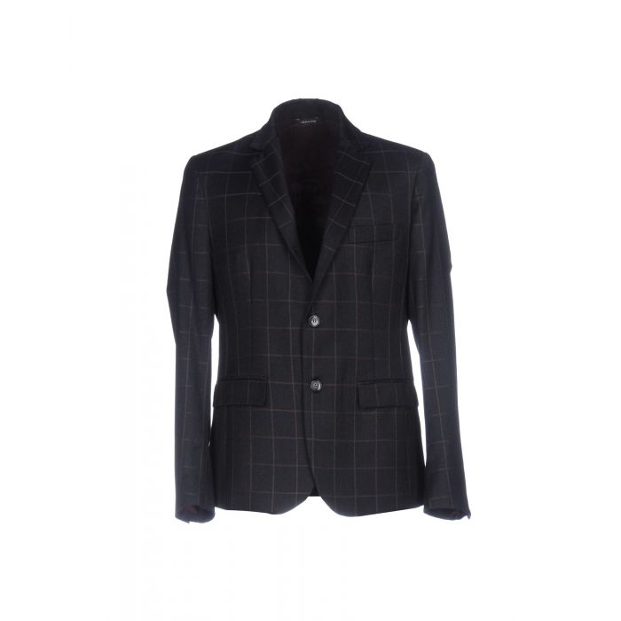 Image for Steel grey pure wool blazer
