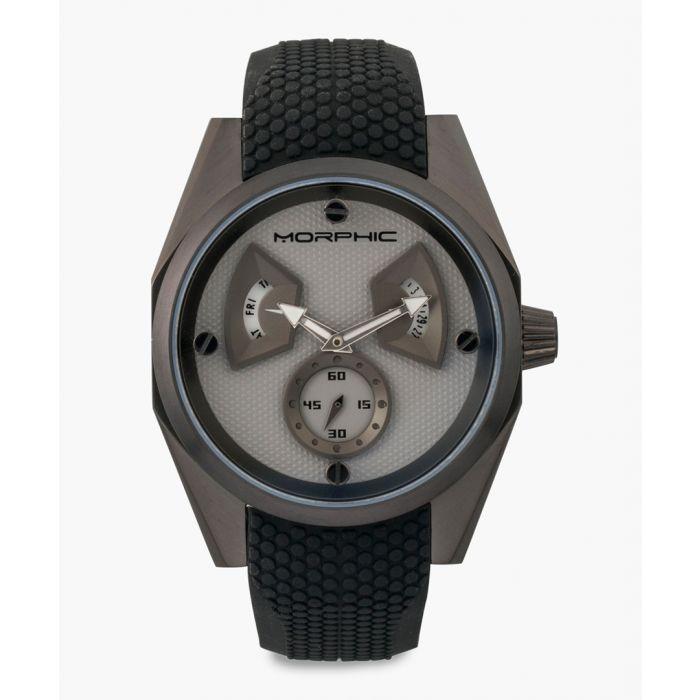 Image for M34 Series silicone and stainless steel chronograph watch