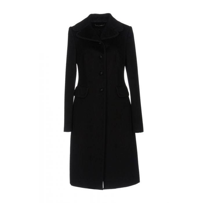 Image for Black wool coat