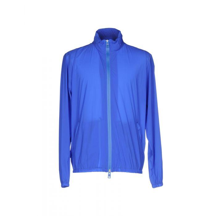 Image for Blue single-breasted turtleneck jacket