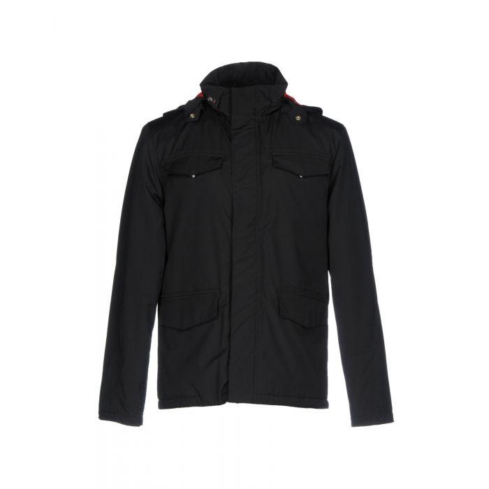 Image for Black wool blend single-breasted blazer