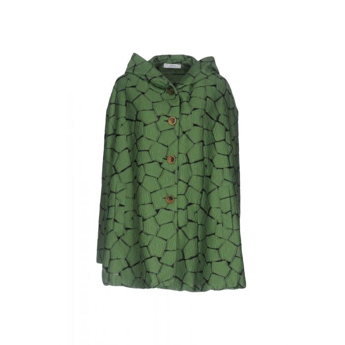 Image for Green cotton overcoat