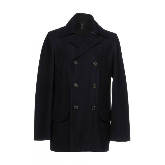 Image for Dkny Man Dark blue Coats