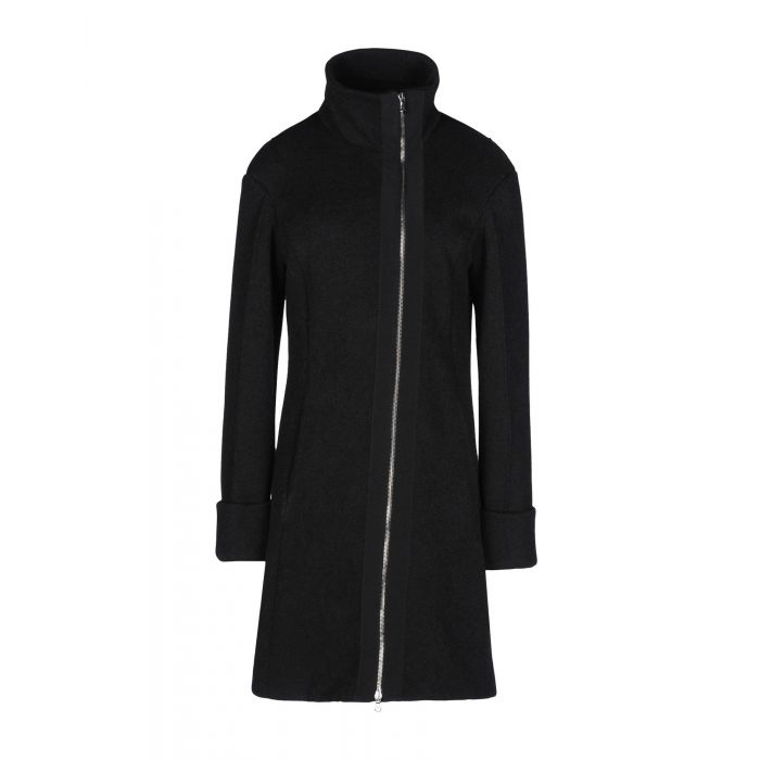 Image for Emporio Armani Woman Black Coats