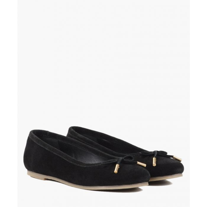 Image for Tan suede ballet flats