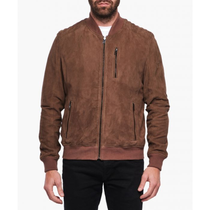 Image for Samuel brown leather jacket