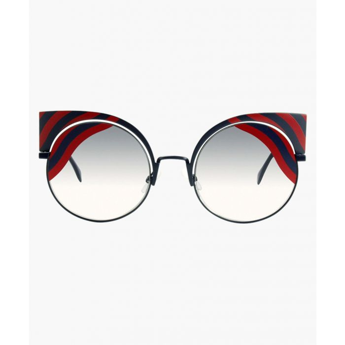 Image for Blue red and smoke shaded sunglasses
